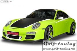 Porsche 911/997 04-11 Бампер передний GT/3-Look