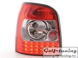 Audi A4 B5 95-00 Универсал Фонари светодиодные, красно-белые