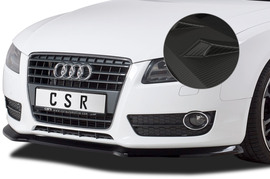 Audi A5 07-11 Накладка на передний бампер Carbon look