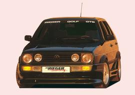 VW Golf 2 Передний бампер Breitbau 2