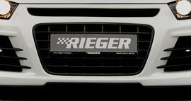 Решетка радиатора для переднего бампера Rieger 14102/14103