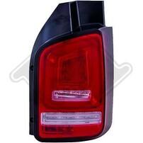 VW T6 Transporter 15- Фонари светодиодные, led bar красно-белые