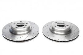 BMW 5er E60 530d/7er E65/E66 730/740/750/760 Комплект спортивных тормозных дисков