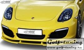 Porsche Boxster 98) 12- Спойлер переднего бампера VARIO-X