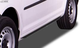 VW Caddy 2003-2020 Накладки на пороги slim