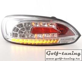 VW Scirocco 08-14 Фонари светодиодные, хром с светодиодным поворотником