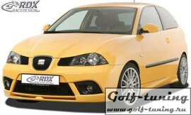 Seat Ibiza 6L FR / Facelift Спойлер переднего бампера
