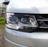 VW T5 GP 09-15 Фары Original Xenon Look черные
