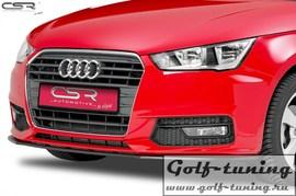 Audi A1 8X 10-15 Накладка на передний бампер Cupspoilerlippe