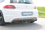 VW Scirocco 08-14 Бампер задний R-Line +PDC