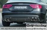 Audi A5/S5 S-Line 11-16 Sportback Накладка на задний бампер/диффузор