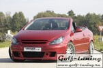 Peugeot 307 Пороги Carbon Look