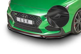 Hyundai I30 N (PD) 17- Накладка на передний бампер Carbon look
