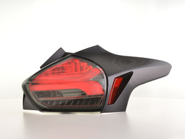Ford Focus 3 5-дв. Хэтчбек 14-18 Фонари светодиодные тонированные