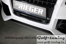 Накладка нижняя для переднего бампера Rieger 00055430, 00055431, 00055432, 00055433