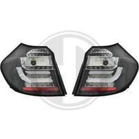 BMW E87 08-11 Фонари Lightbar design черные