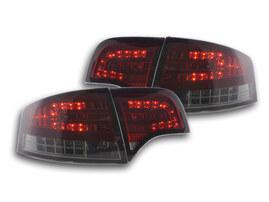 Audi A4 Седан (B7/8E) 04-07 Фонари светодиодные красно- тонированные
