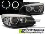 BMW X1 E84 09-12 Фары AE LED черные