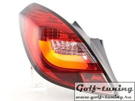 Opel Corsa D 3Дв 06-14 Фонари светодиодные, красные