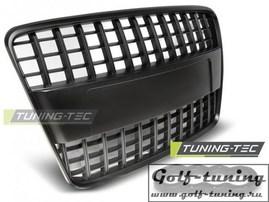 Audi Q7 05-09 Решетка радиатора S-LINE Style черная