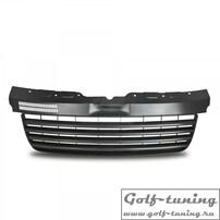 VW T5 Transporter 03-09 Решетка радиатора без значка черная