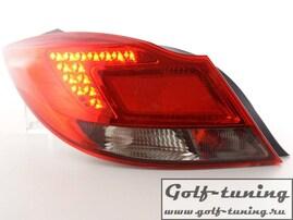Opel Insignia 08-13 Седан Фонари светодиодные, красно-тонированные