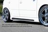 VW Golf 5 5Дв GTI/R32 Накладки на пороги Carbon Look
