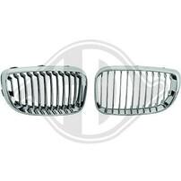 BMW E87 07-11 Решетки радиатора (ноздри) хром