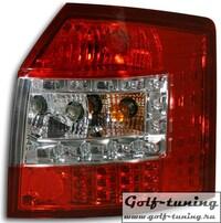 Audi A4 B6 01-04 Универсал Фонари светодиодные, красно-белые
