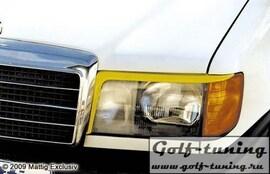 Mercedes W124 84-97 Ресницы на фары