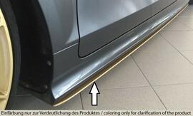 Audi TT-S/TT-RS 8J 09-14 Накладки под штатные пороги/сплиттеры