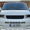 VW T5 03-09 Фары в стиле T6 с бегающим поворотником черные