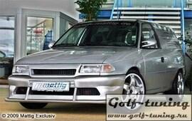 Opel Astra F 91-98 Бампер передний