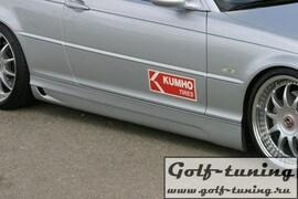 BMW E46 Седан/Универсал 00- Накладки на пороги