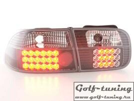 Honda Civic 92-95 2/4D Фонари светодиодные, черные