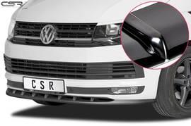 VW T6 Multivan 15-19 Накладка на передний бампер Cupspoilerlippe глянцевая