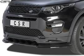 Land Rover Discovery Sport 15- Накладка на передний бампер глянцевая