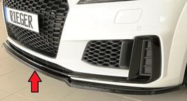 Audi TT/TTS (8J-FV/8S) S-Line 18- Накладка на передний бампер/сплиттер глянцевая