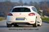 VW Scirocco 3 08-14 Накладка на задний бампер/диффузор