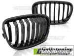 BMW F20/F21 11-14 Решетки радиатора (ноздри) черные, глянец