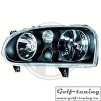 VW Golf 3 Фары Golf 4 Look hella черные