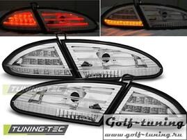 Seat Leon 05-09 Фонари светодиодные, хром