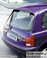 Nissan Micra K11 93-01 Спойлер на крышку багажника с стоп сигналом