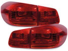 VW Tiguan 11-16 Фонари светодиодные, красно-белые