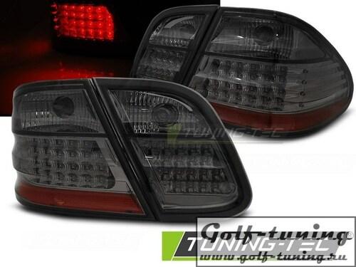 Mercedes CLK W208 97-02 Фонари светодиодные, тонированные