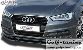 Audi A3 8V, 8VA Sportback, 8VS Limousine, 8V7 Cabrio S-Line / S3 Спойлер переднего бампера VARIO-X