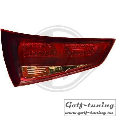 Audi A1 11- Фонари светодиодные, красно-тонированные