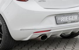 Opel Astra J 12-15 Диффузор для заднего бампера