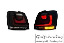 VW Polo 6R 09-15 Фонари черные в стиле GTI