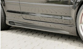 Audi A4 8H 02-05 Кабрио Накладки на пороги Carbon Look